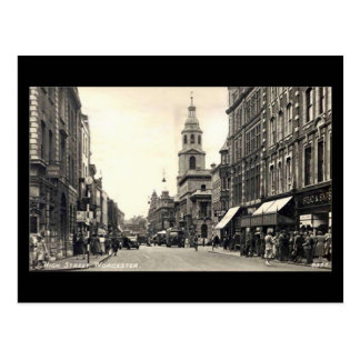Old Postcard - High Street, Worcester