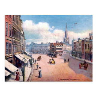 Old Postcard - High Town, Hereford