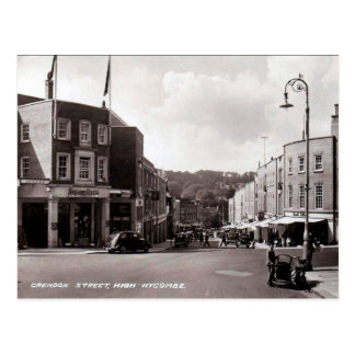 Old Postcard - High Wycombe, Buckinghamshire