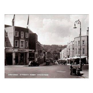 Old Postcard - High Wycombe, Buckinghamshire
