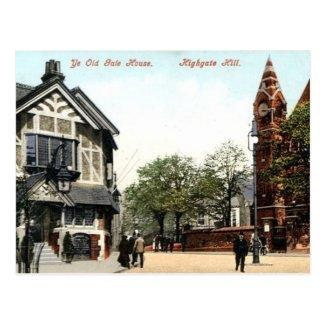 Old Postcard - Highgate Hill, London