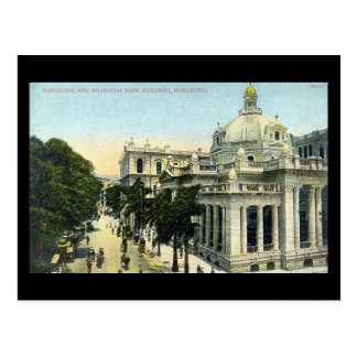 Old Postcard - Hong Kong and Shanghai Bank, Hong K
