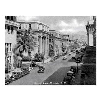Old Postcard - Honolulu, Hawaii