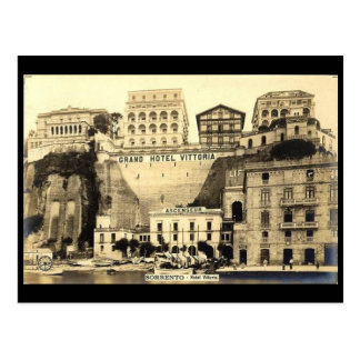 Old Postcard - Hotel Vittoria, Sorrento, Italy