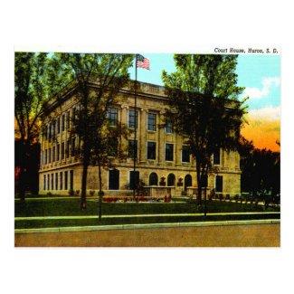 Old Postcard - Huron, South Dakota