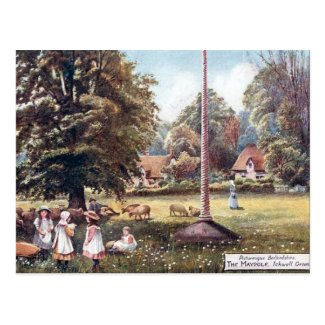 Old Postcard - Ickwell Green, Bedfordshire