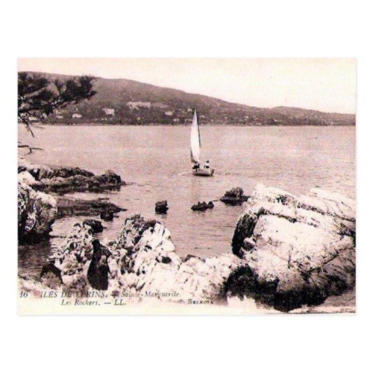 Old Postcard - Iles de Lérins, Alpes Maritimes