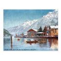 Old Postcard - Interlaken, Switzerland