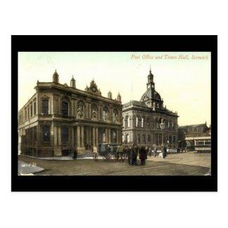 Old Postcard - Ipswich, Suffolk