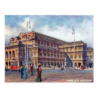 Old Postcard - K K Hofoper, Wien