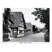 Old Postcard - Kempsey, Worcestershire