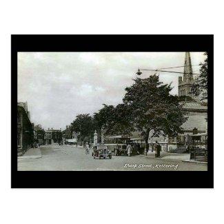Old Postcard. Kettering, Northamptonshire