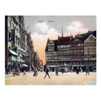 Old Postcard - Kiel, Deutschland