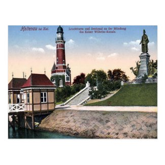 Old Postcard - Kiel, Germany