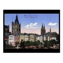 Old Postcard - Koln/Cologne - Altermarkt
