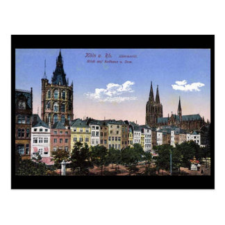 Old Postcard - Koln/Cologne - Altermarkt