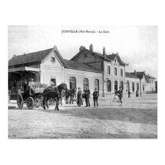 Old Postcard - La Gare, Joinville, Haute Marne