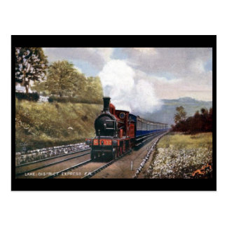 Old Postcard - Lake District Express