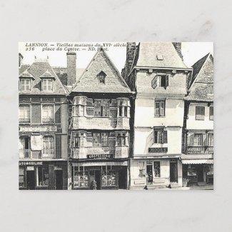 Old Postcard - Lannion, Bretagne, France