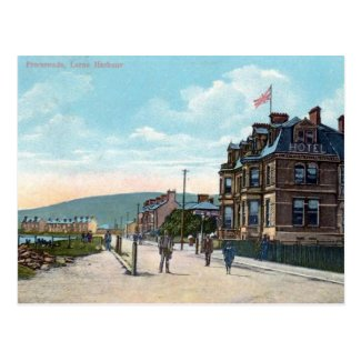 Old Postcard - Larne Harbour, Co Antrim