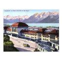 Old Postcard - Lausanne, Switzerland