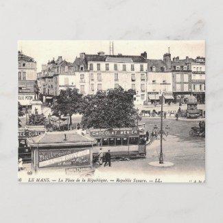 Old Postcard - Le Mans, Sarthe, France
