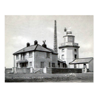 Old Postcard - Lighthouse, Cromer