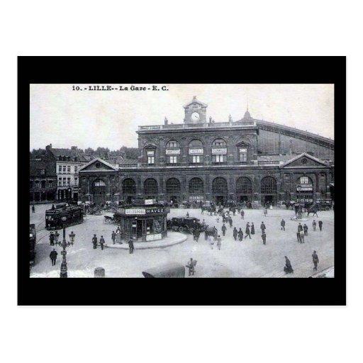 Old Postcard - Lille, France