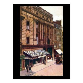 Old Postcard - London, Adelphi Theatre