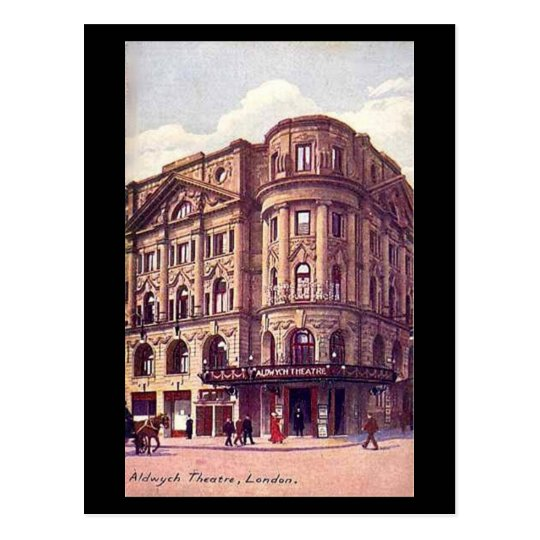 Old Postcard - London, Aldwych Theatre