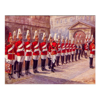 Old Postcard - London, Horse Guards
