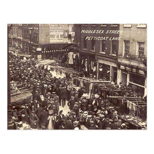 Old Postcard - London, Petticoat Lane
