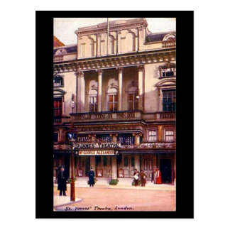 Old Postcard - London, St James' Theatre