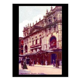 Old Postcard - London, Wyndham's Theatre