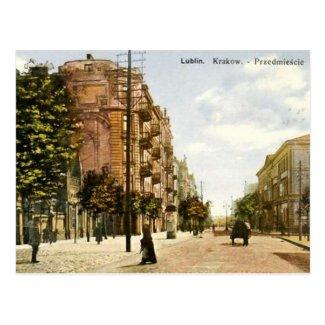 Old Postcard - Lublin, Poland