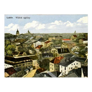 Old Postcard - Lublin, Poland