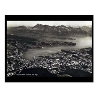 Old Postcard - Lucerne, Switzerland.