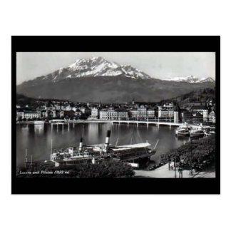 Old Postcard - Lucerne, Switzerland