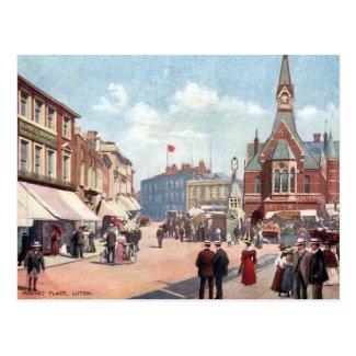 Old Postcard - Luton, Bedfordshire