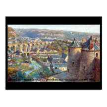 Old Postcard - Luxembourg Post Cards