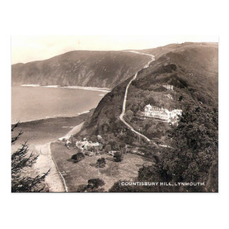 Old Postcard - Lynmouth, Devon