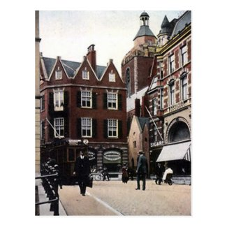 Old Postcard - Maartensbrug, Utrecht, Netherlands