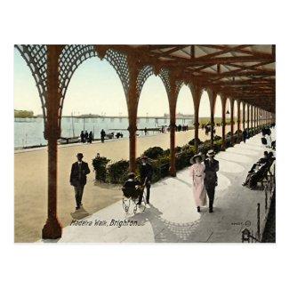 Old Postcard - Madeira Walk, Brighton