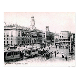 Old Postcard - Madrid, Spain