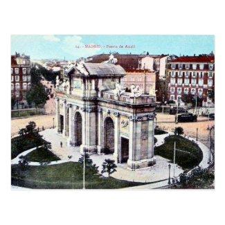 Old Postcard - Madrid, Spain