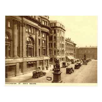 Old Postcard - Manchester