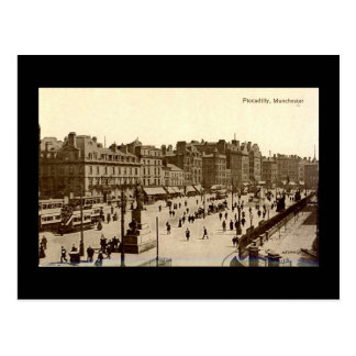 Old Postcard, Manchester, Piccadilly Postcard