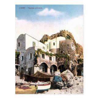 Old Postcard - Marina Piccola, Capri, Italy