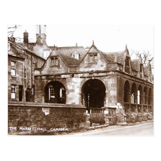 Old Postcard - Market Hall, Chipping Campden