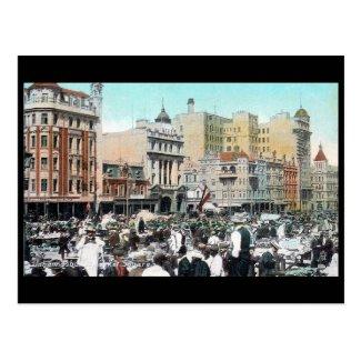 Old Postcard - Market Square, Johannesburg